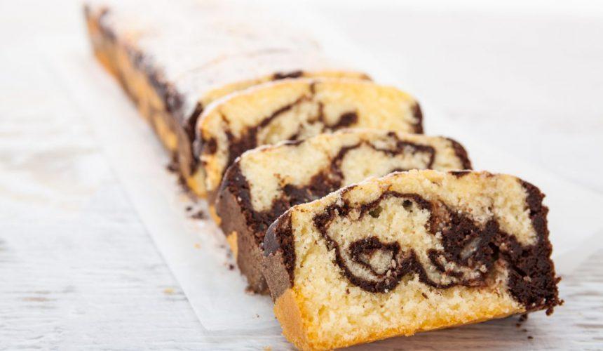 Gâteau marbré (recette de grand-mère)